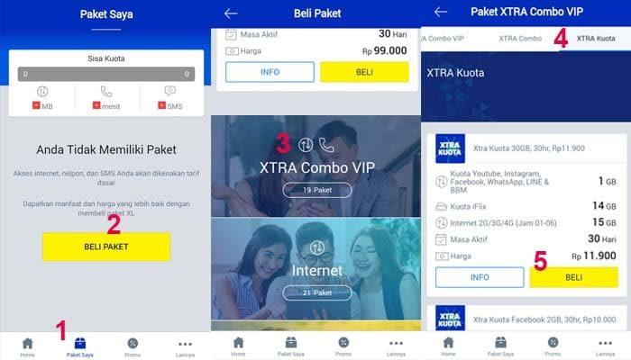 Paket internet 30gb murah