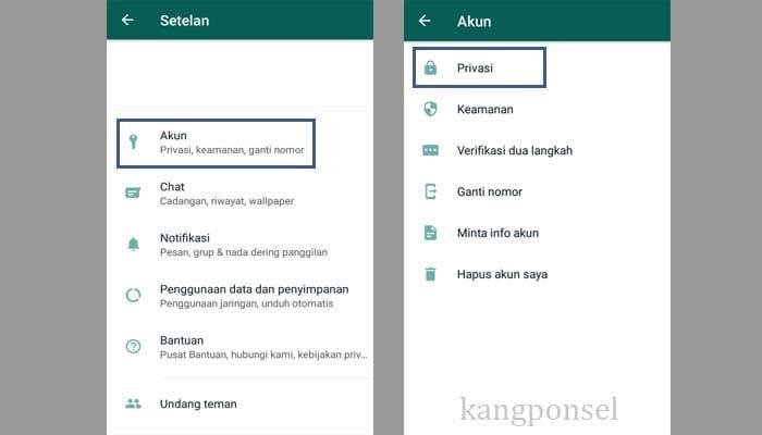 Cara Menyembunyikan Story WhatsApp dari Seseorang