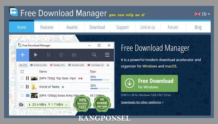 Aplikasi Downloader Terbaik