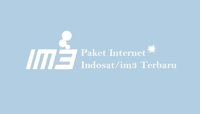 Paket Internet Indosat/im3 Terbaru