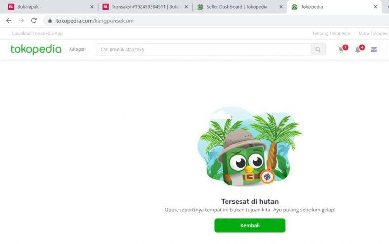 Cara Mengganti Nama Toko / Domain di Tokopedia (TIDAK BISA)