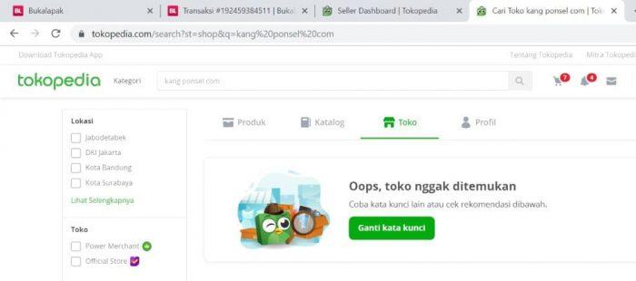 Cara Mengganti Nama Toko dan Domain di Tokopedia
