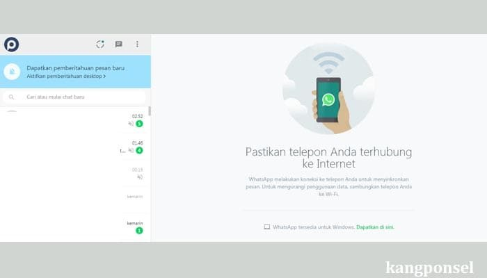 Login WhatsApp Web Tanpa Scan Barcode