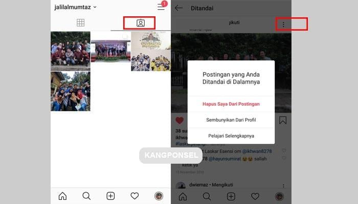 Cara Menghapus Tagar Foto dan Video di Instagram