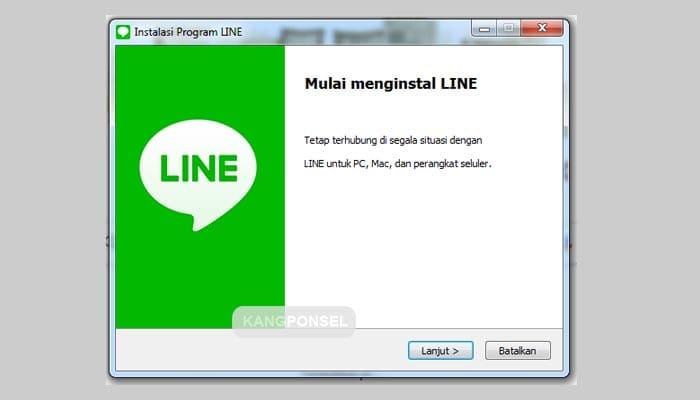 Cara Install dan Buka Aplikasi LINE di PC