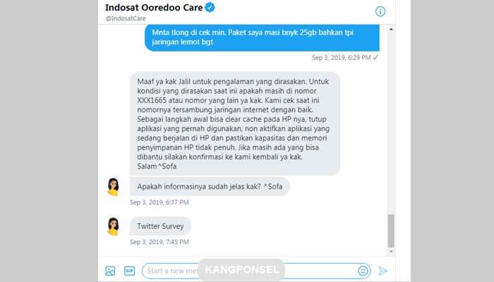 Cara Berhenti Paket Indosat IM3 Ooredoo [100% Berhasil]