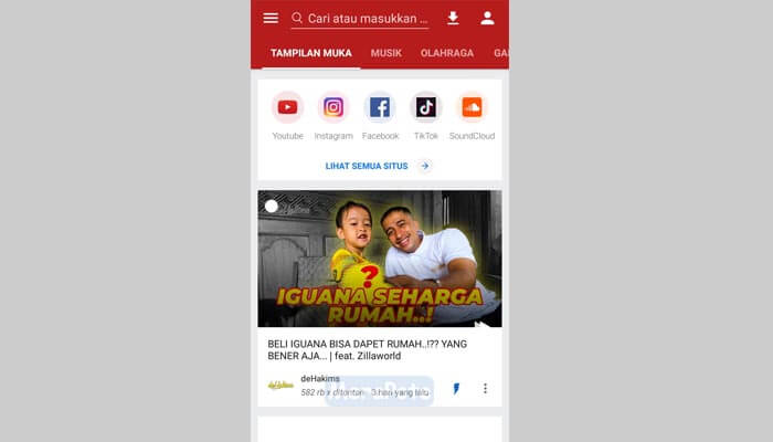 aplikasi download video videoder