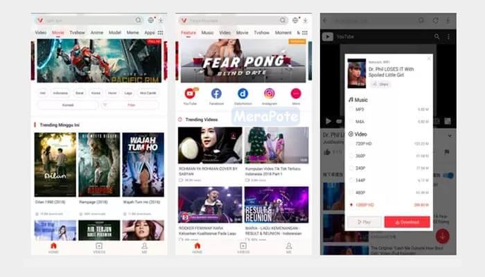 aplikasi vidmate- HD Video Downloader