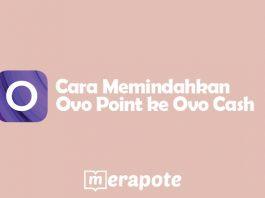 Cara Memindahkan Ovo Point ke Ovo Cash