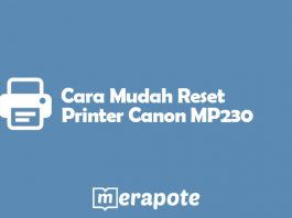 Reset Printer Canon MP230