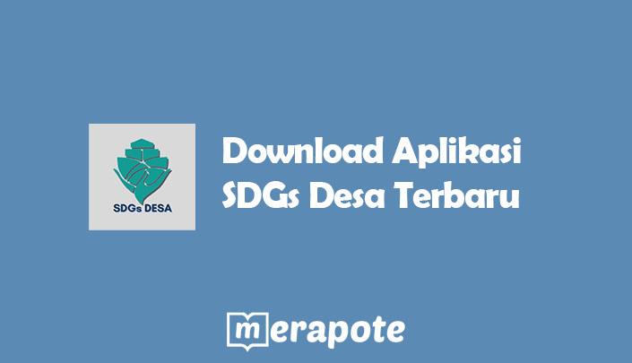 Aplikasi SDGs Desa